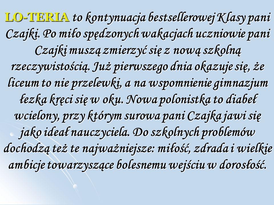 Ksi ąż ka to prawdziwa gratka dla fanów pisarstwa Małgorzaty Karoliny Piekarskiej.