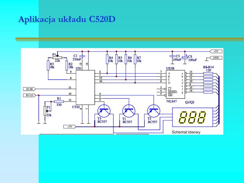 Aplikacja układu C520D