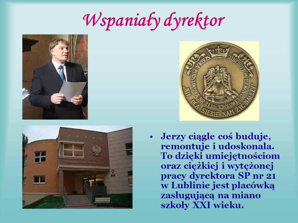 Z Rodziną od samego początku… Jerzy prezentował swoją szkołę na zjeździe założycielskim.