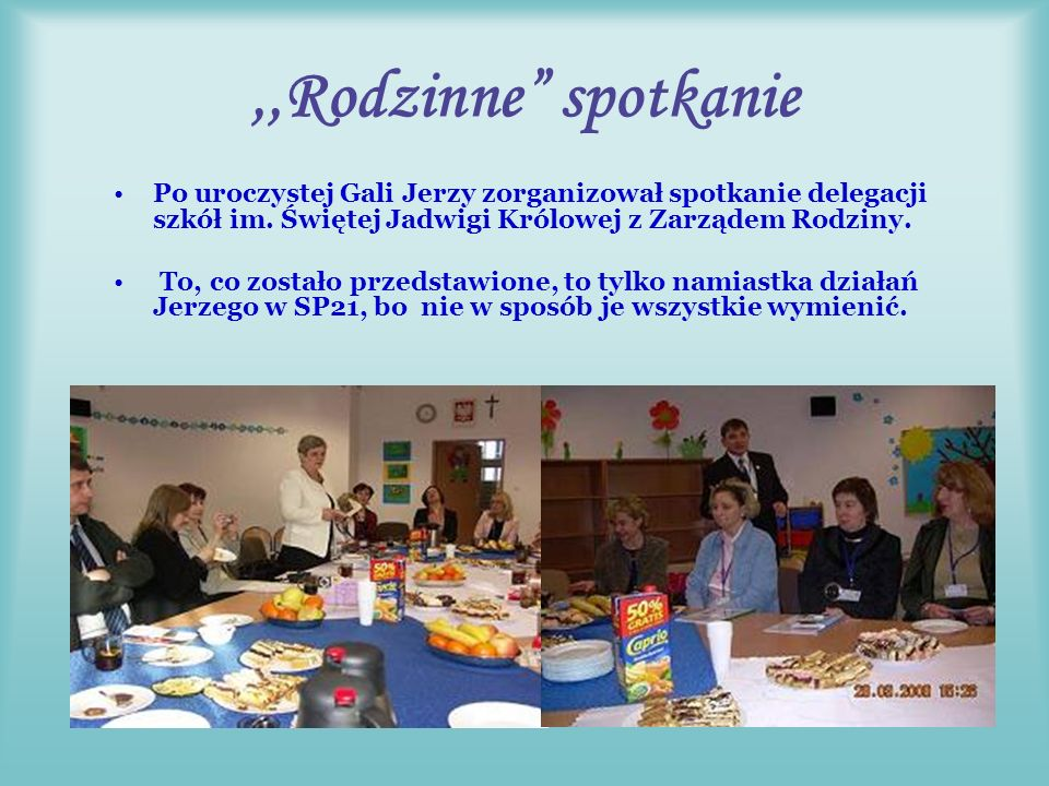 Świetny organizator WIELKA GALA W LUBLINIE Jerzy w dniu 28 marca 2008r.