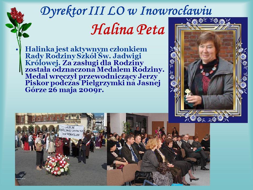 Przewodniczący Rodziny odwiedza szkoły jadwiżańskie Jerzy dwukrotnie odwiedził III LO im.