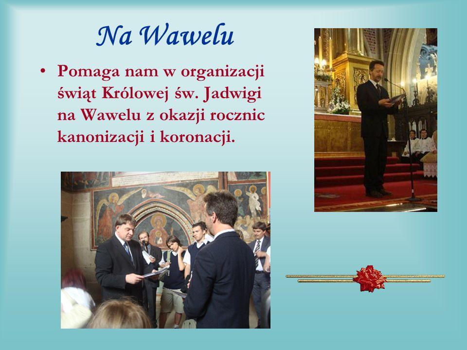 Na Jasnej Górze W auli papieskiej Przewodniczący Jerzy Piskor za zasługi dla Rodziny wręczył Janowi Pociejowi Medal Rodziny.