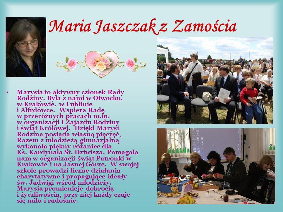 Pani Marzena Jabłońska i Panie z SP 21 w Lublinie Pani Marzena Jabłońska i Panie Barbara Lesiewicz, Justyna Łysiak, Iwona Sumorek (na fot.