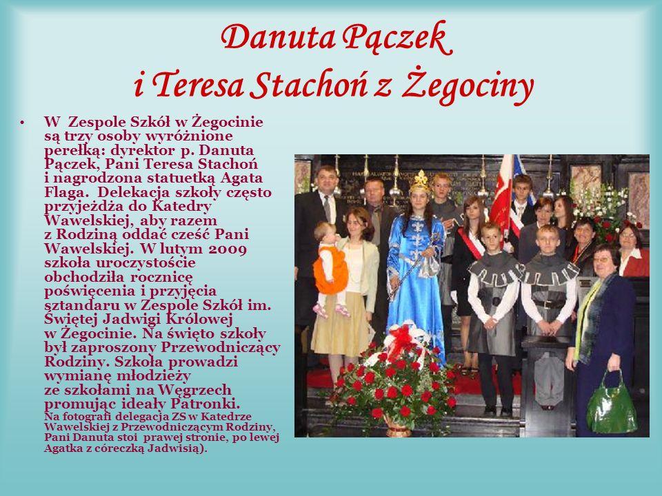 Janina Pawłowska z Piły, Grzegorz Wądołowski i Bogusława Różańska ZS nr 2 w Pile wyróżnia się Perełkami pośród grona nuczycielskiego i uczniów.