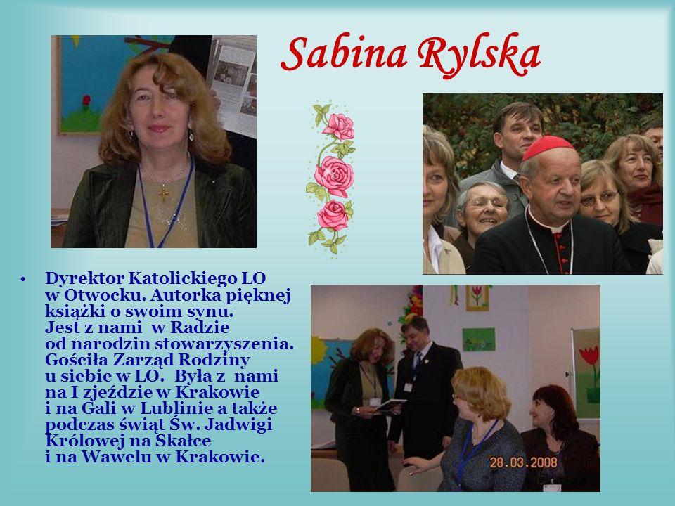 Barbara Rek z Częstochowy i Ks. Jacek Dzięki wielkiemu wkładowi Basi i Ks.