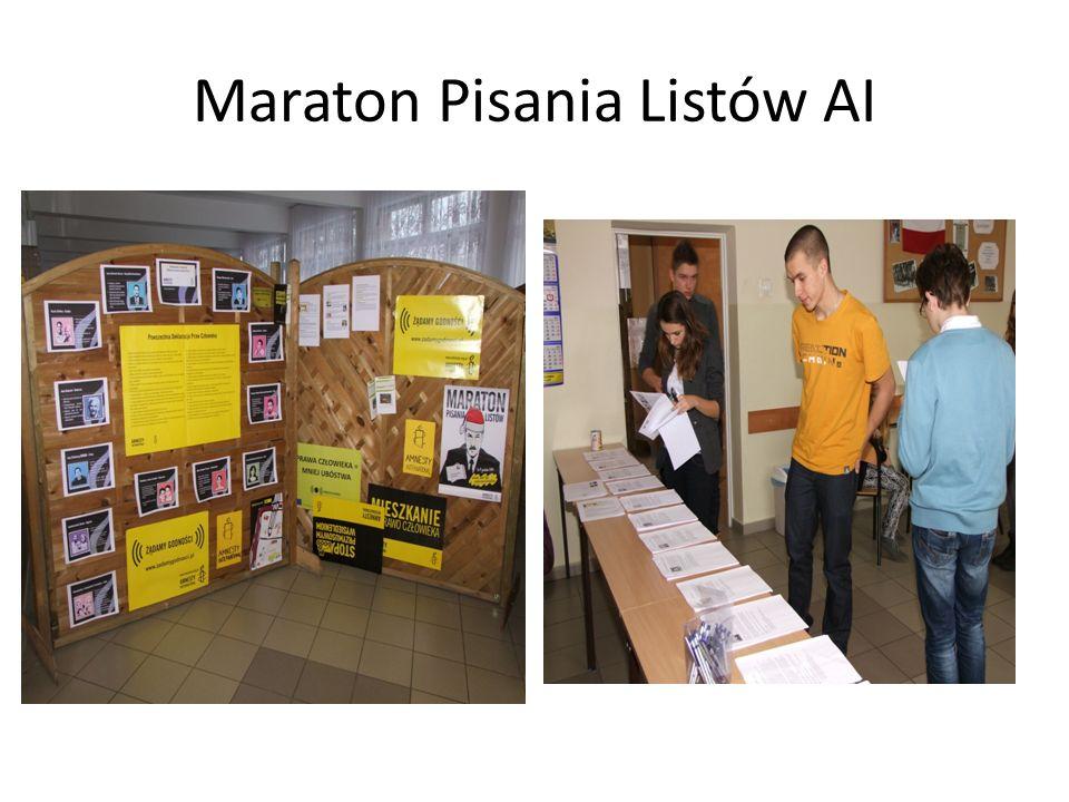 Maraton Pisania Listów AI