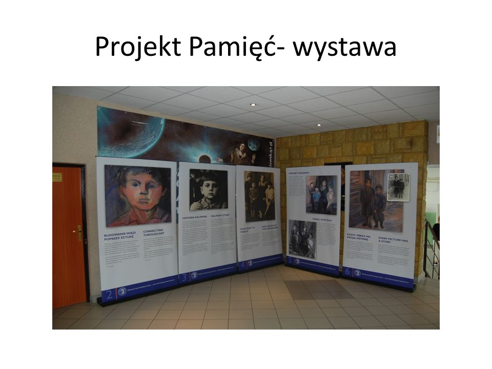 Projekt Pamięć- wystawa