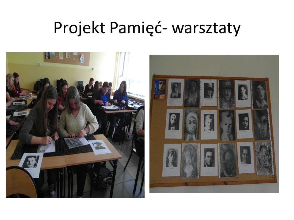 Projekt Pamięć- warsztaty
