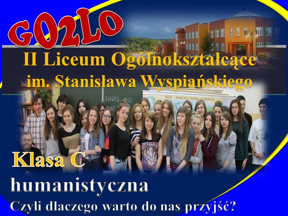 II Liceum Ogólnokształcące im. Stanisława Wyspiańskiego