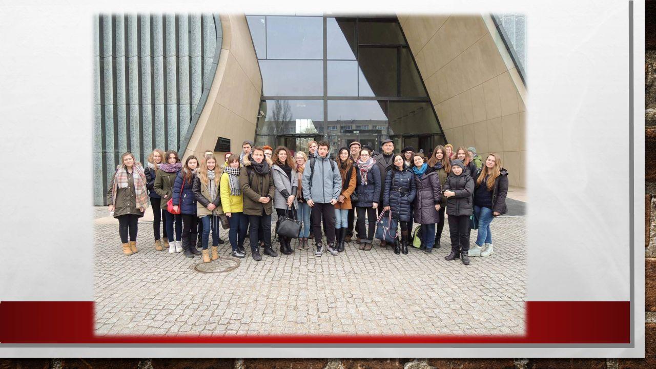 Mieliśmy również możliwość uczestniczenia w wycieczce integracyjnej do Muzeum Historii Żydów Polskich w Warszawie dn.