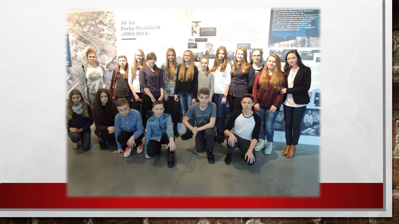We współpracy z III LO w Łodzi, kilkunastu uczniów z naszej szkoły miało możliwość wzięcia udziału razem z młodzieżą niemiecką w zajęciach integracyjnych pod nazwą,,Ocalić od zapomnienia, przywrócić wspomnienia'' organizowanych w Centrum Dialogu im.