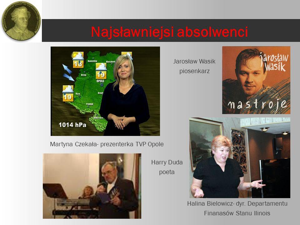 Martyna Czekała- prezenterka TVP Opole Harry Duda poeta Halina Bielowicz- dyr.