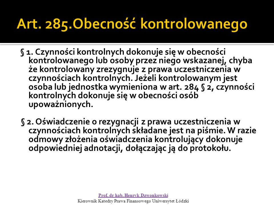 Art.285 § 3.