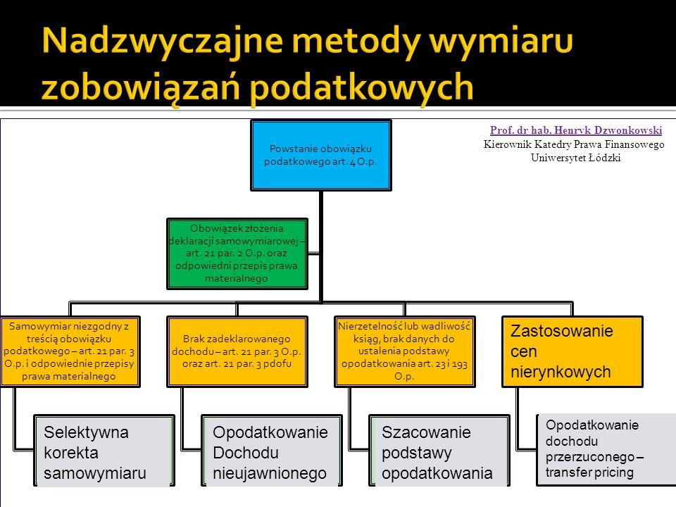 Powstanie obowiązku podatkowego art. 4 O.p.