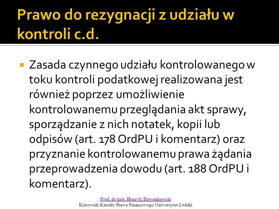  Organu podatkowy zgodnie z art.138 OrdPU (zob. art.