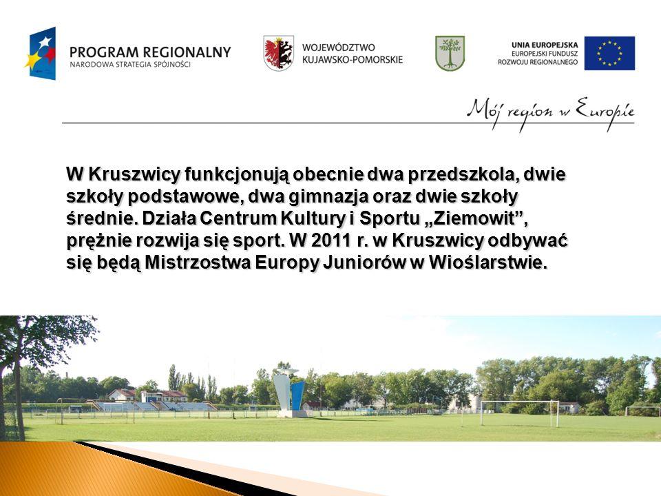 W Kruszwicy funkcjonują obecnie dwa przedszkola, dwie szkoły podstawowe, dwa gimnazja oraz dwie szkoły średnie.