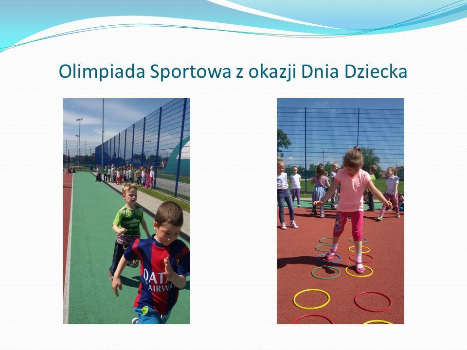 Olimpiada Sportowa z okazji Dnia Dziecka