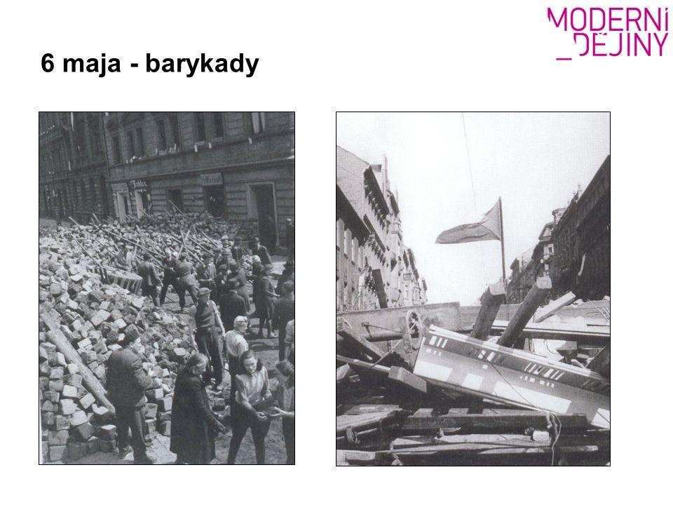 6 maja - barykady
