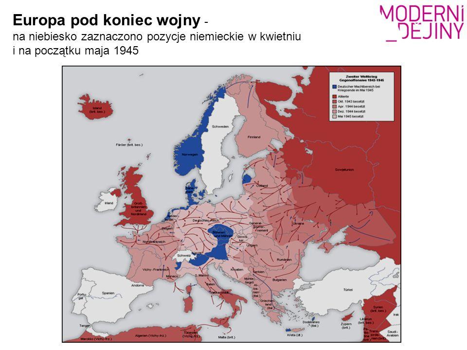 Wyzwalanie Czechosłowacji a gra mocarstwowa ZSRR i USA Na terytorium czeskim spotykały się interesy Zachodu i Wschodu.