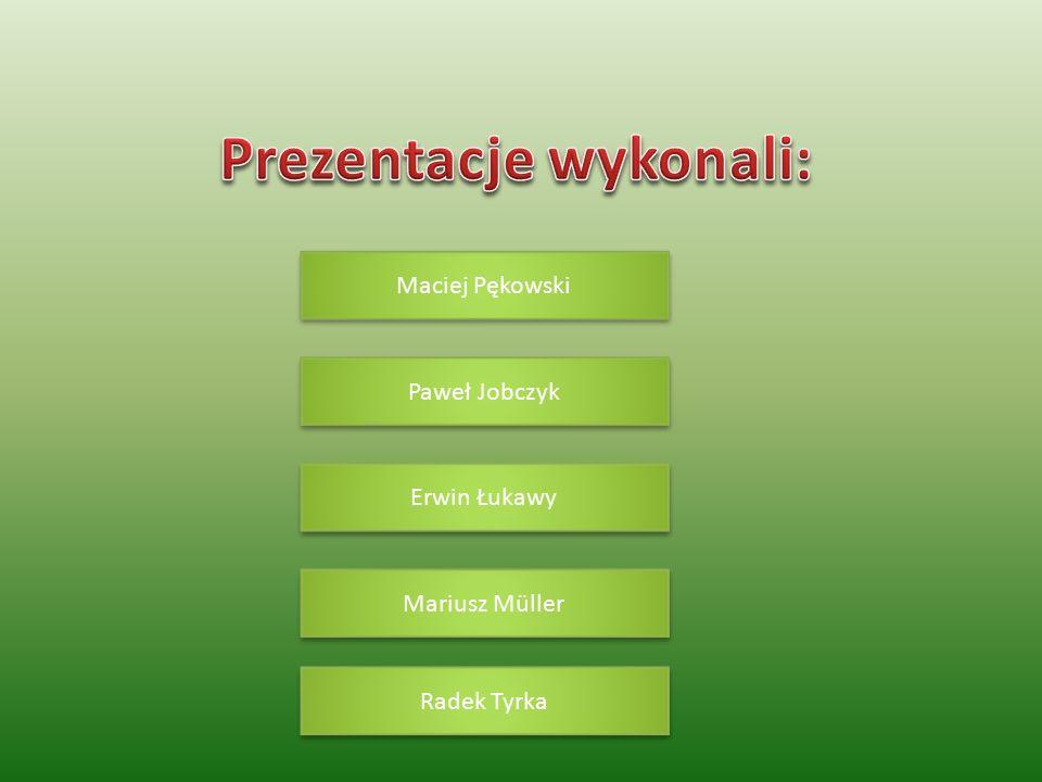 Maciej Pękowski Paweł Jobczyk Erwin Łukawy Mariusz Müller Radek Tyrka