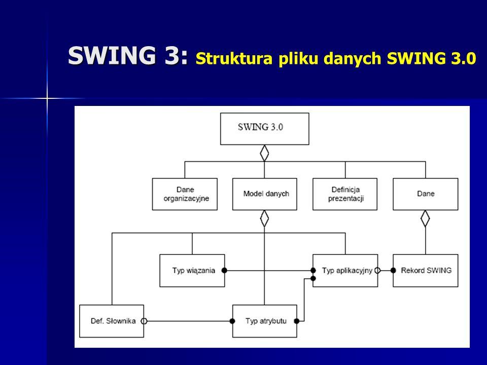 SWING 3: SWING 3: Struktura pliku danych SWING 3.0