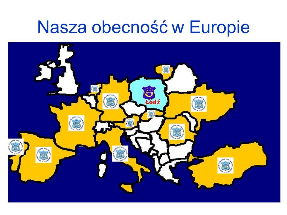 Nasza obecność w Europie