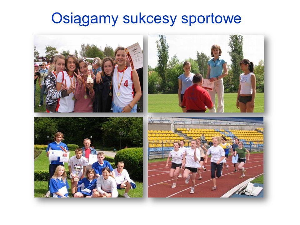Osiągamy sukcesy sportowe