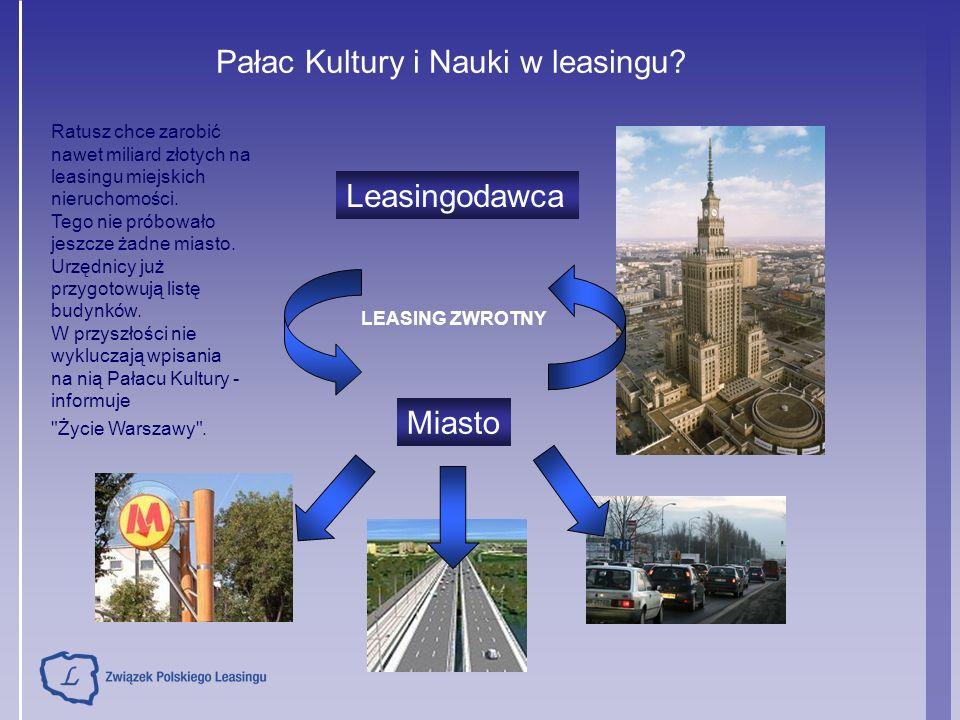 Ratusz chce zarobić nawet miliard złotych na leasingu miejskich nieruchomości. Tego nie próbowało jeszcze żadne miasto. Urzędnicy już przygotowują lis