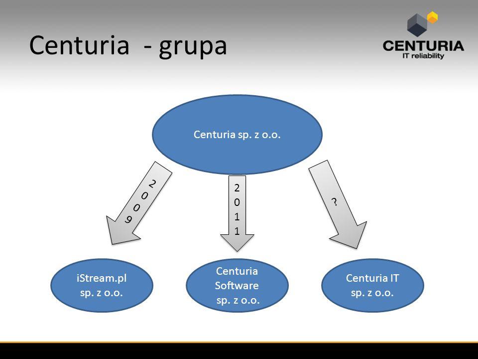 Centuria - grupa Centuria sp. z o.o. iStream.pl sp.