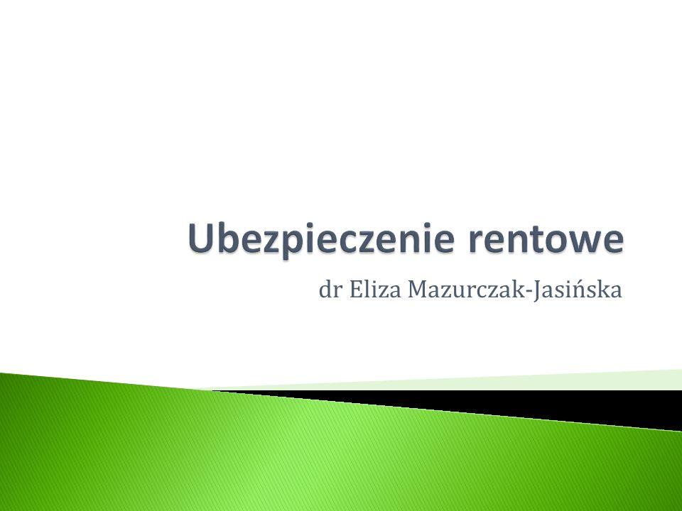 dr Eliza Mazurczak-Jasińska