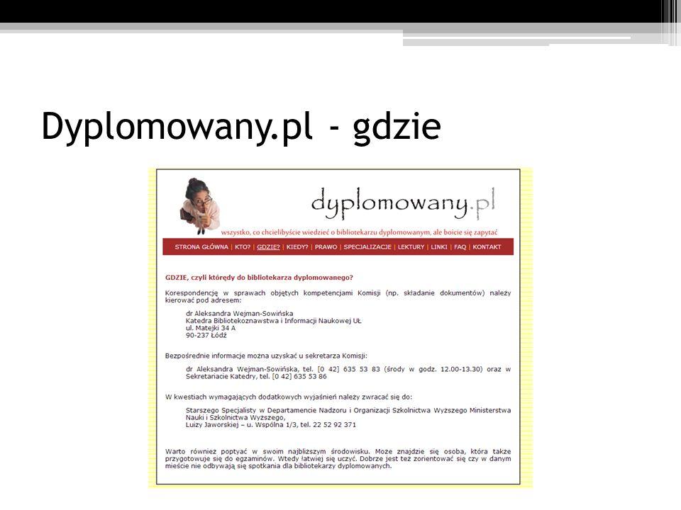 Dyplomowany.pl - gdzie