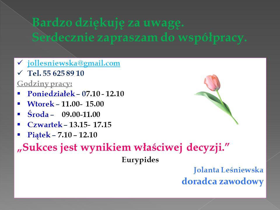 jollesniewska@gmail.com Tel.