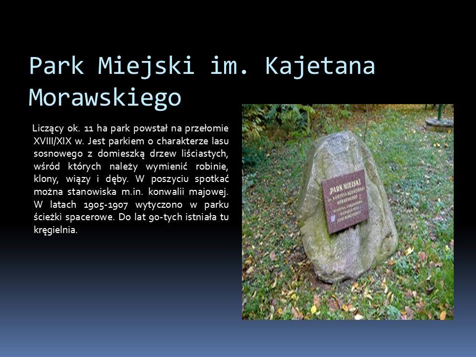 Park Miejski im. Kajetana Morawskiego Liczący ok.