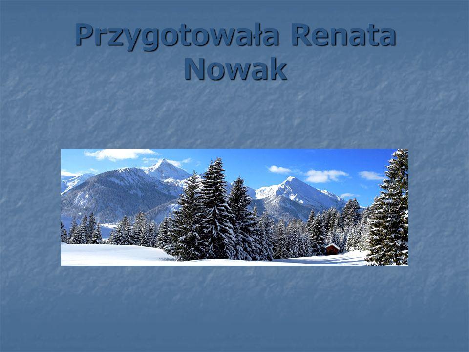 Przygotowała Renata Nowak