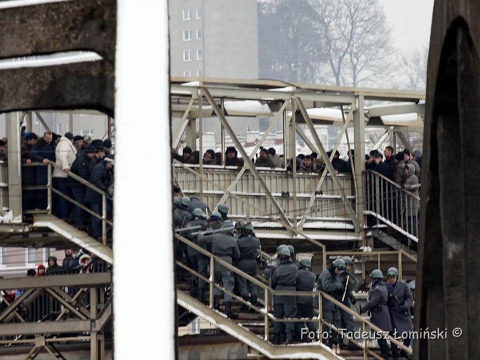 W środę 16 grudnia w zakładach Trójmiasta narasta akcja strajkowa.