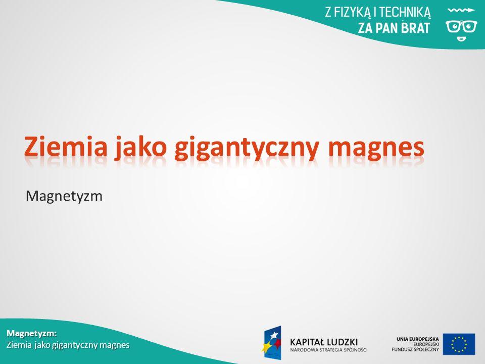 Magnetyzm: Ziemia jako gigantyczny magnes Magnetyzm