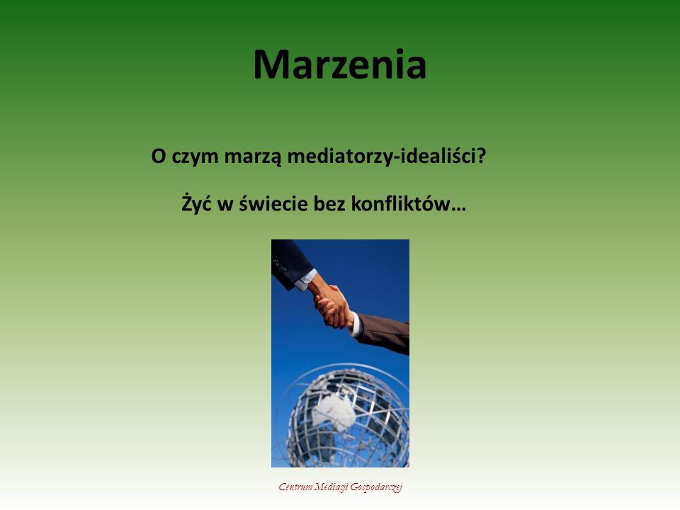 Marzenia O czym marzą mediatorzy-idealiści.