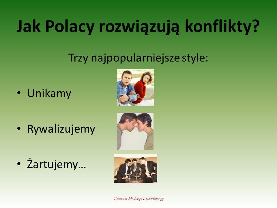 Jak Polacy rozwiązują konflikty.