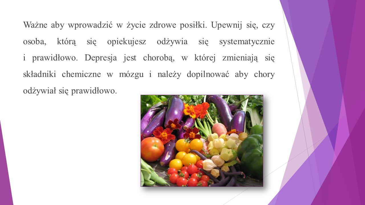 Ważne aby wprowadzić w życie zdrowe posiłki.