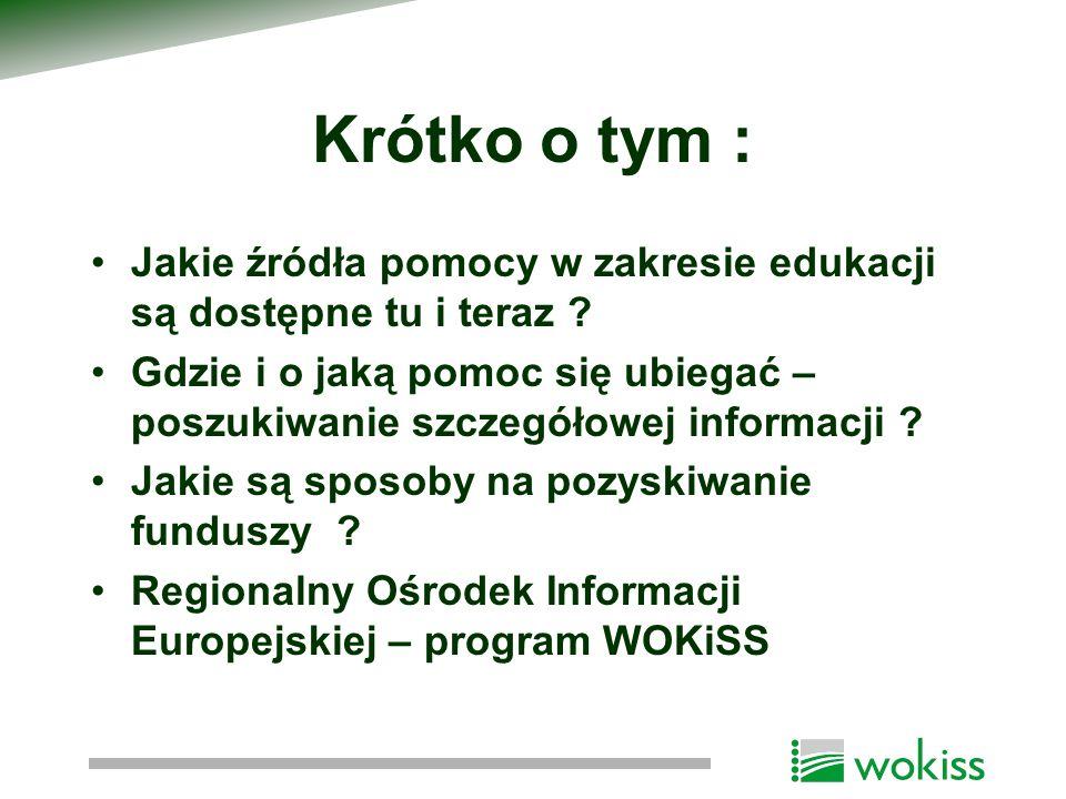 Komponent B1 : 1.badania gospodarcze i rynku pracy, 2.