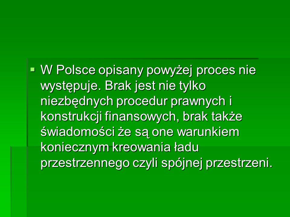  W Polsce opisany powyżej proces nie występuje.