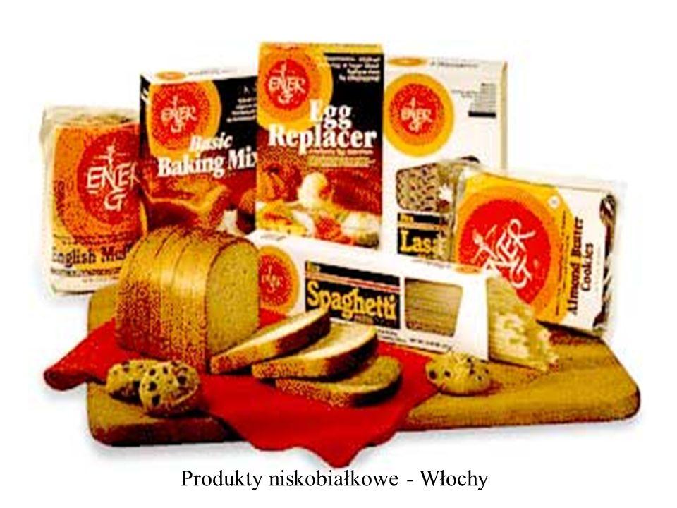 Produkty niskobiałkowe - Włochy