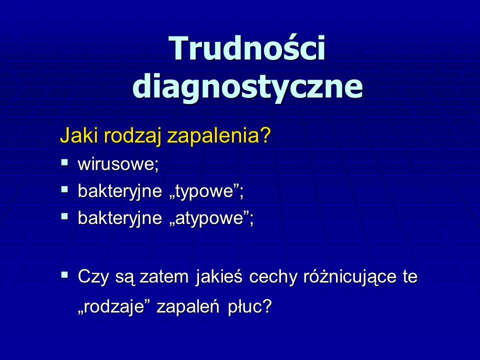 Antybiotykoterapia BTS 2011  Gronkowiec – podejrzenie – amoksycylina z kw.