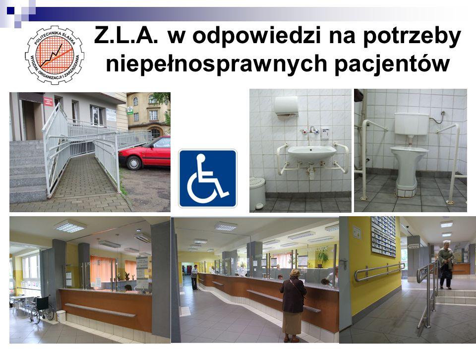 Z.L.A. w odpowiedzi na potrzeby niepełnosprawnych pacjentów