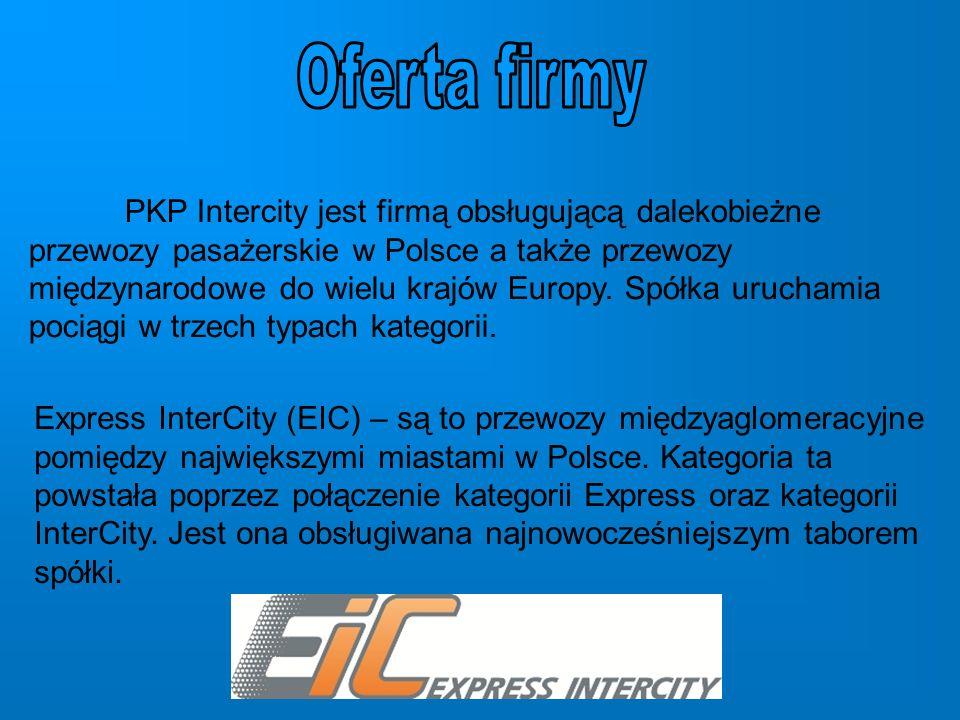 Twoje Linie Kolejowe (TLK) – przewozy międzyregionalne łączące wiele większych i mniejszych miejscowości w całej Polsce.