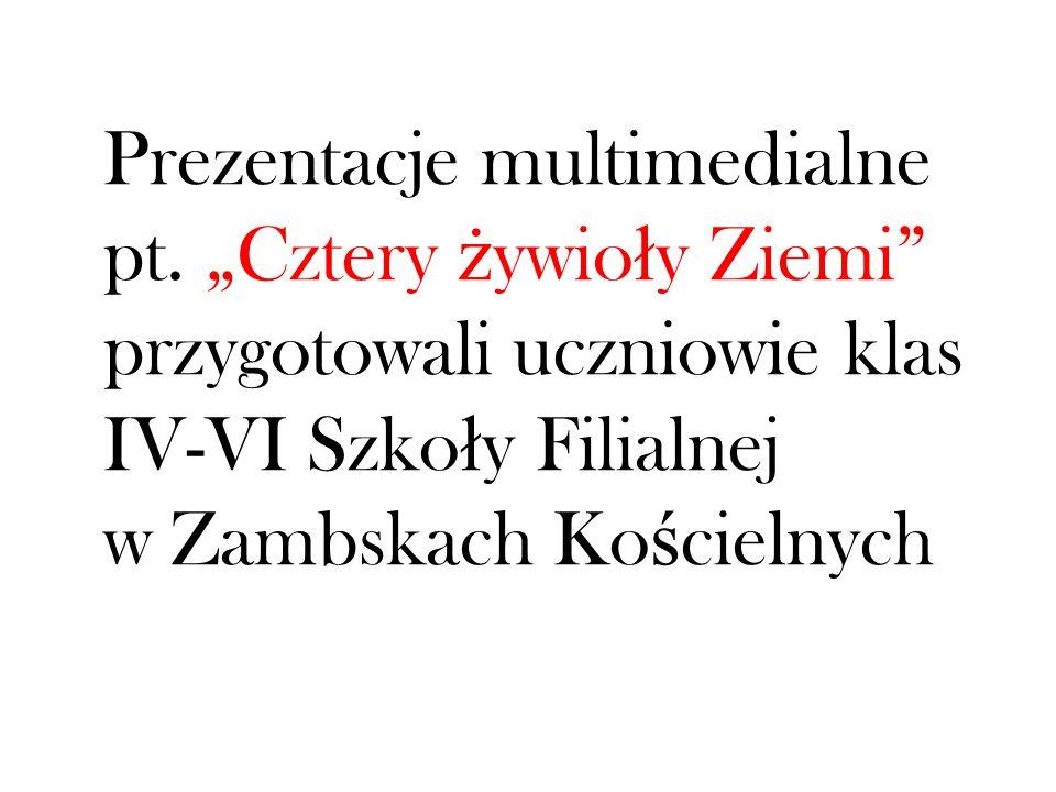 Prezentacje multimedialne pt.