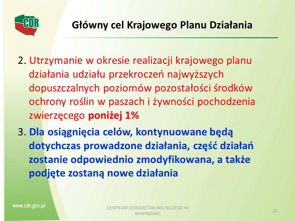 Główny cel Krajowego Planu Działania 2.