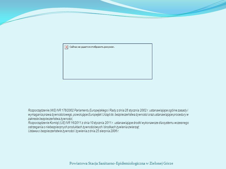 Rozporządzenie (WE) NR 178/2002 Parlamentu Europejskiego i Rady z dnia 28 stycznia 2002 r. ustanawiające ogólne zasady i wymagania prawa żywnościowego