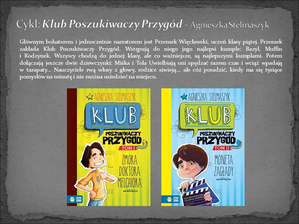 Głównym bohaterem i jednocześnie narratorem jest Przemek Więcławski, uczeń klasy piątej.