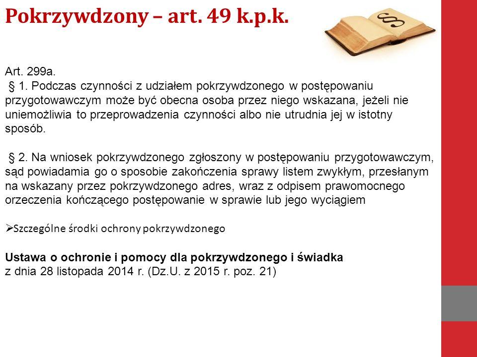 Art. 299a. § 1.